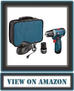 Bosch 12-Volt Max Brushless 3/8-Inch Drill/Driver Kit PS32-02 with 2 Lithium-Ion Batteries, 12V Charger, and Carrying Case