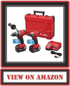 Milwaukee 2796-22 M18 FUEL ONE-KEY 18-Volt Lithium-Ion Brushless Cordless Hammer Drill/Impact Driver Combo Kit