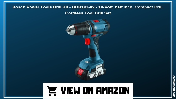 Bosch Power Tools Drill Kit - DDB181-02